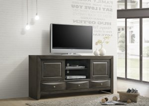 "4270 Emily TV Stand 68"" Grey"