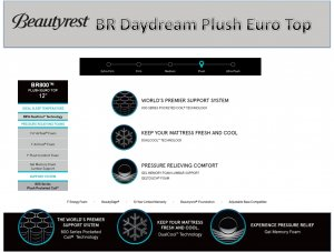 BR Daydream Plush EuroTop