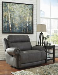 38401 Austere Grey Recliner